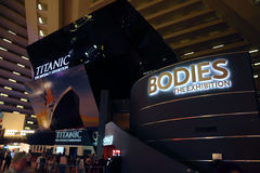 Exhibitions Las Vegas Royalty Free Stock Photography