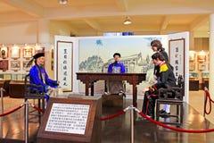 Exhibitions In Lin Zexu Memorial Museum, Macau, China. The Lin Zexu Memorial Museum of Macau is a museum in Nossa Senhora de Fátima, Macau, China about Lin Zexu Royalty Free Stock Images