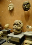 Exhibitions in the National Museum of Anthropology, Mexico City Stock Photography
