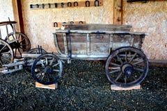 Exhibitis In Romanian Peasant Museum, Dumbrava Sibiului, Transylvania Stock Image