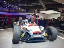 Exhibitors at Auto Expo 2016 - India Royalty Free Stock Image