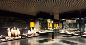 Exhibits of Badalona  Museum Royalty Free Stock Photos