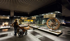 Exhibits of Badalona Roman Museum Stock Photo
