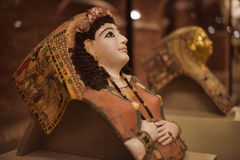 Exhibits from the collection of Neues Museum Royalty Free Stock Photos