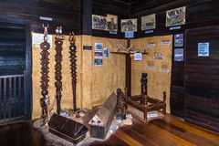 Exhibits of etnography museum in Ambohitrahanga Stock Photography