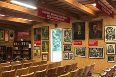 Exhibits Information Center museum. Grutas Park Stock Photography