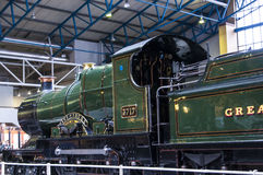 Exhibits in the National Railway Museum in York, Yorkshire England Royalty Free Stock Photo