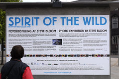 EXHIBTION OF STEVE BLOOM Royalty Free Stock Photography