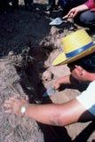 Exhumación total en Tailandia Fotografía de archivo