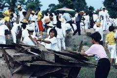 Exhumación total en Tailandia Imágenes de archivo libres de regalías