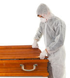 Exhumation & coffin Stock Photos