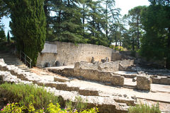 Exhumation Vaison-la-Romaine Royalty Free Stock Photos