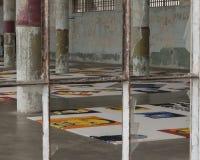 Exibição da flor do Ai Weiwei em Alcatraz Fotografia de Stock