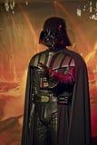 Exibição Darth Vader de Starwars Foto de Stock