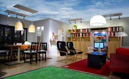 Exibição das vendas da mobília Imagem de Stock Royalty Free