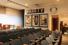 Exibição informativa do ` velho s da tevê e do canal de televisão, museu da indústria, Maryland de Baltimore, 2017 fotos de stock