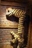 Exibição na galeria temático em Ushuaia, Argentina imagens de stock