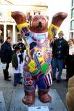 Exibição (ursos unidos do camarada - urso uruguaio) Imagens de Stock Royalty Free