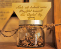 Exibições de farmácias medievais Imagens de Stock