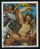 Exibido na exposição internacional por Raphael Imagem de Stock