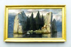 Exibit im Alte das alte National Gallery-Museum auf Museumsinsel in Berlin Germany Stockfotografie