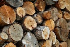 Existencias de madera Imagen de archivo
