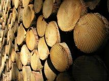 Existencias de madera Imagen de archivo libre de regalías