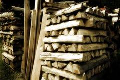 Existencias de madera Fotografía de archivo