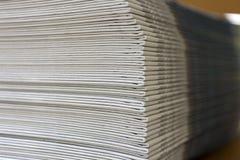 Existencias del periódico fotografía de archivo libre de regalías