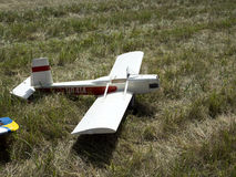 Existing models of aircraft. Royalty Free Stock Image