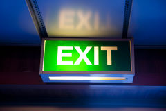 Free Exit Royalty Free Stock Image - 21244986
