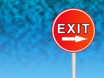 Exit Royalty Free Stock Photos