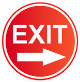 Exit 9 Royalty Free Stock Images