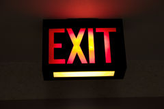 Exit Royalty Free Stock Photography