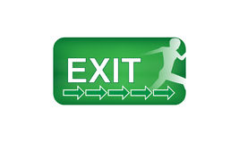 Exit arrows Royalty Free Stock Photo
