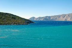 Exit the Bay of Islands in the Aegean sea. Greece royalty free stock images