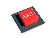 Exit button Stock Images