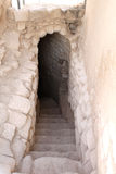 Exit Cave Stairs Royalty Free Stock Photography