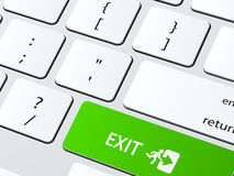 Exit Royalty Free Stock Images
