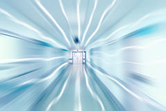 Exit from the corridor Royalty Free Stock Photos