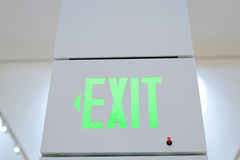 Exit direction sign Stock Photography