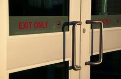 Exit door Stock Image