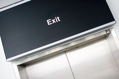 Exit Door Royalty Free Stock Photos