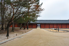 Exit door of Changgyeong palace2 Stock Images