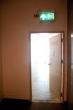 Exit door for stairway Royalty Free Stock Image