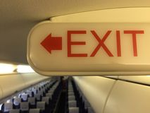 Exit Stock Image
