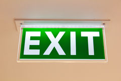 Exit. Royalty Free Stock Photos