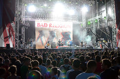 Exit Festival - Bad Religion royalty free stock photos