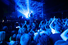 Exit Festival 2015 - Main Stage Royalty Free Stock Photo