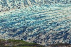 Exit glacier Stock Photography